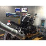 Honda CB650F dyno