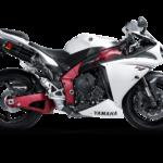 Yamaha R1 akrapovic custom tune