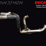 Ducati Panigale 1199 and 1299 Vandemon Full exhaust system