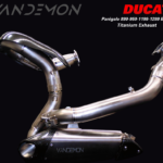 Ducati Panigale 899 959 1199 1299 Full Titanium side exhaust system
