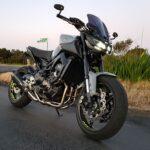 Yamaha MT-09 XSR900 Full Titanium Exhasust Vandemon 1