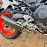 Yamaha MT-09 XSR900 Full Titanium Exhasust Vandemon 4