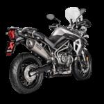 Triumph TIger 800 Akrapovic exhaust system 3