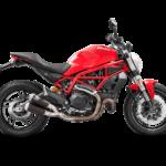 Ducati Monster 659 797 slip on exhausts 1
