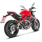 Ducati Monster 659 797 slip on exhausts 3